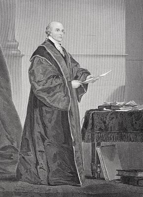 John Jay 1745 - 1829. U.s. Jurist And Poster by Vintage Design Pics