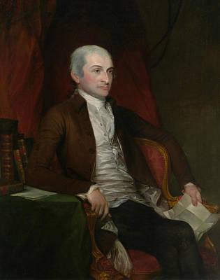 John Jay Poster by Gilbert Stuart