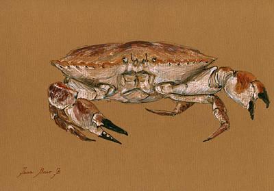 Jonah Crab Poster by Juan  Bosco