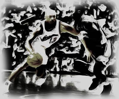 Jordan And Kobe 2b Poster by Brian Reaves