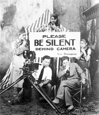 Josef Von Sternberg During The Shooting Poster by Everett