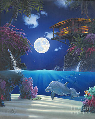 Journey In Paradise Poster by Al Hogue