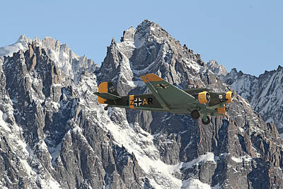 Ju52 - Lutwaffe Stalwart Poster by Pat Speirs