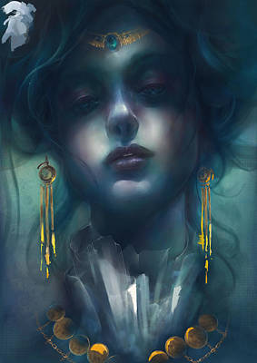 Judith V1 Poster by Te Hu
