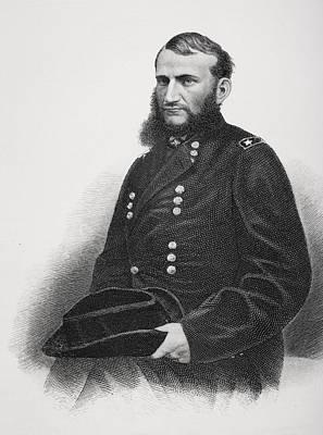Judson Kilpatrick 1836 To 1881. Union Poster by Vintage Design Pics