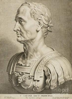 Julius Caesar Poster by Roman School