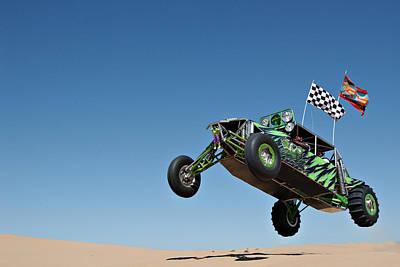 Jumping Hulk Poster by Scott Sawyer
