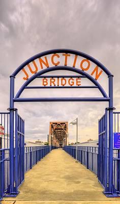 Junction Bridge Little Rock Poster by JC Findley
