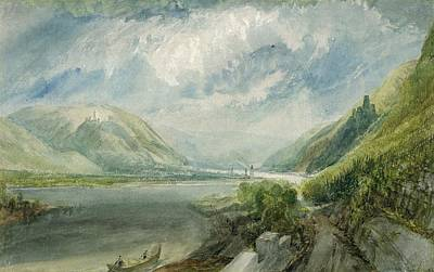 Junction Of The Lahn Poster by Joseph Mallord William Turner