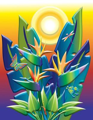 Jungle Joy Poster by Jack Potter
