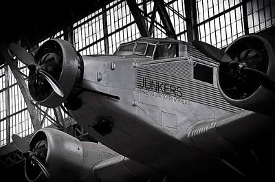 Junkers Ju-52 Poster by Geoff Evans