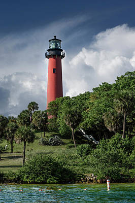 Jupiter Inlet Lighthouse Poster by Laura Fasulo