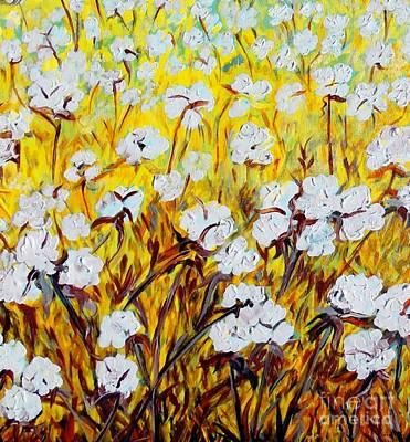 Just Cotton Poster by Eloise Schneider