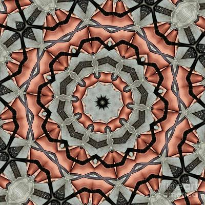 Kaleidoscope 127 Poster by Ron Bissett