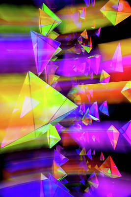 Kaleidoscopic Mind Poster by Az Jackson