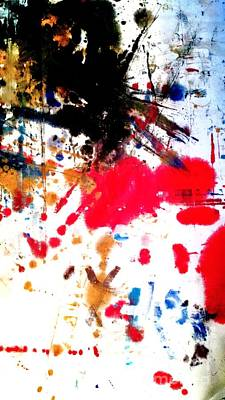 Kamor Abstract Poster by Amy Sorrell