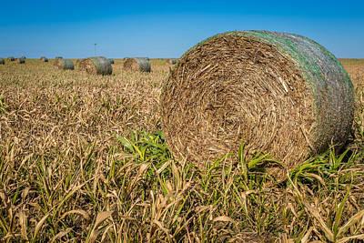 Kansas Farming #3 Poster by Jon Manjeot
