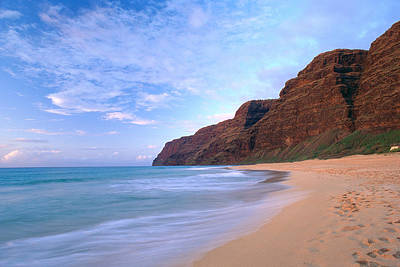 Kauai, Polihale Beach Poster by Peter French - Printscapes