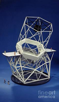 Keck Observatorys Ten Meter Telescope Poster by Science Source