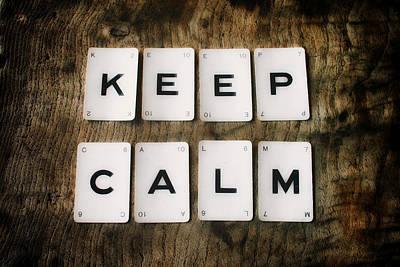 Keep Calm Poster by Georgia Fowler