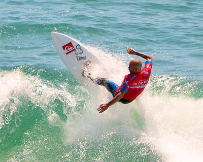 Kelly Slater Us Open Of Surfing 2012     3 Poster by Jason Waugh