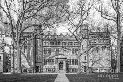 Kenyon College Mather Hall Poster by University Icons