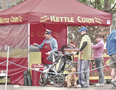 Kettle Corn Poster by David Bearden