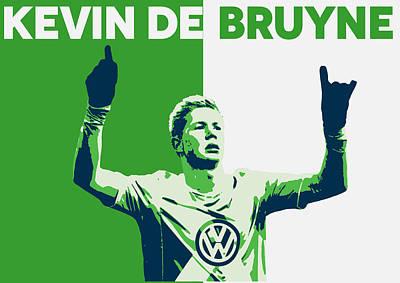 Kevin De Bruyne Poster by Semih Yurdabak