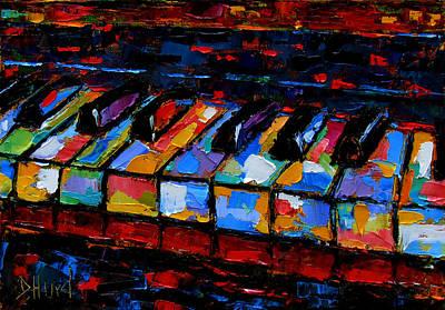 Keyboard Poster by Debra Hurd