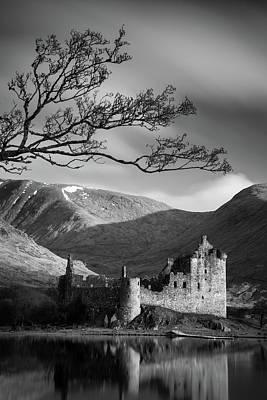 Kilchurn Castle Poster by Dave Bowman
