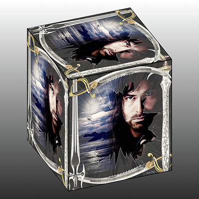 Kili Cube Poster by Kathy Kelly