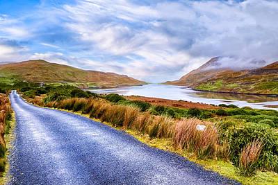 Killary Fjord In Ireland's Connemara Poster by Mark E Tisdale