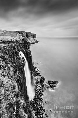 Kilt Rock Waterfall - Isle Of Skye Poster by Rod McLean