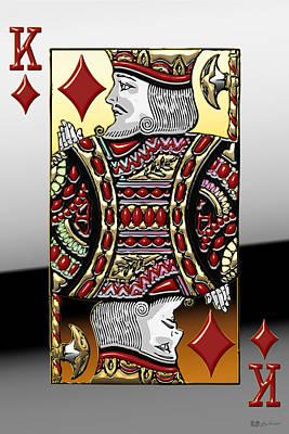 King Of Diamonds   Poster by Serge Averbukh