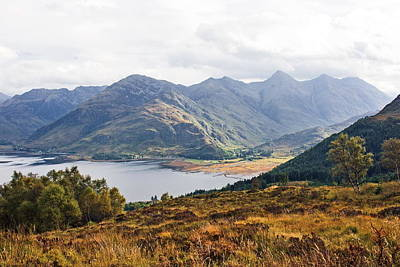 Kintail - Wester Ross, Scotland Poster by Pat Speirs