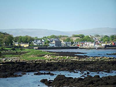 Kinvara Seaside Village Galway Ireland Poster by Teresa Mucha