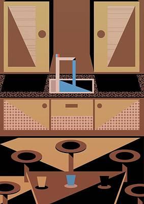 Kitchen Poster by Benjamin Gottwald