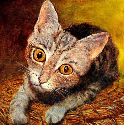 Kitty Poster by Henryk Gorecki