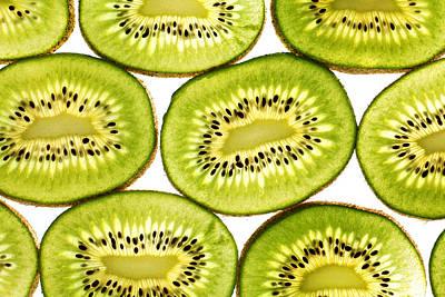 Kiwi Fruit II Poster by Paul Ge