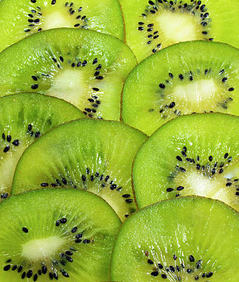 Kiwi Slices Poster by Photo by Cathy Scola