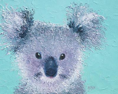 Koala Poster by Jan Matson