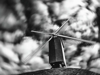 Koelewei Mill Poster by Wim Lanclus