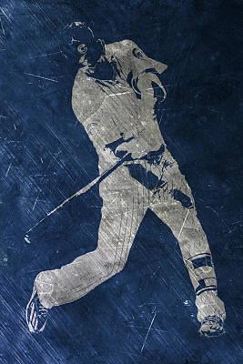 Kris Bryant Chicago Cubs Art Poster by Joe Hamilton