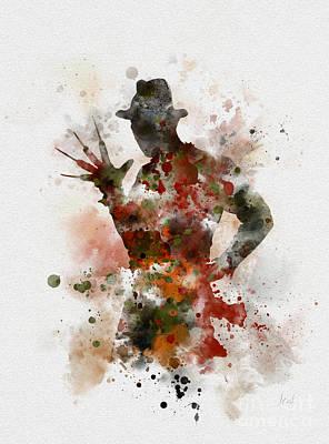Krueger Poster by Rebecca Jenkins