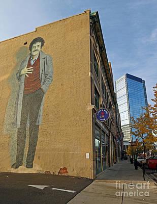 Kurt Vonnegut In Indy Poster by Steve  Gass