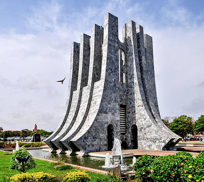 Kwame Nkrumah Memorial Park Poster by Felix Lipov