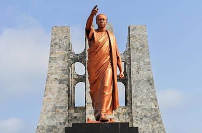 Kwame Nkrumah Memorial Park Monument Poster by Felix Lipov
