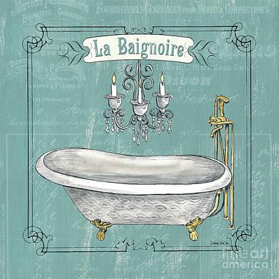 La Baignoire Poster by Debbie DeWitt