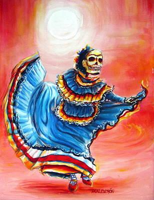 La Bailarina Del Sol Poster by Heather Calderon