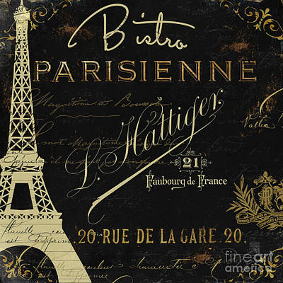 La Cuisine Vi Poster by Mindy Sommers
